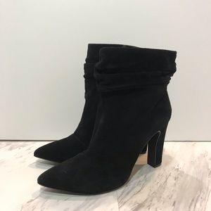 Chinese Laundry Kristen Cavallari Black Suede Boot